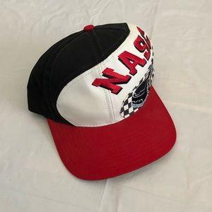 Vintage 90's NASCAR Racing Big Logo Snapback Hat